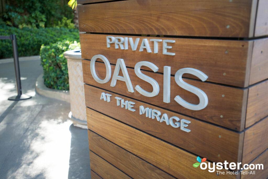 El Oasis Privado en  El Mirage Hotel & Casino  /Ostra