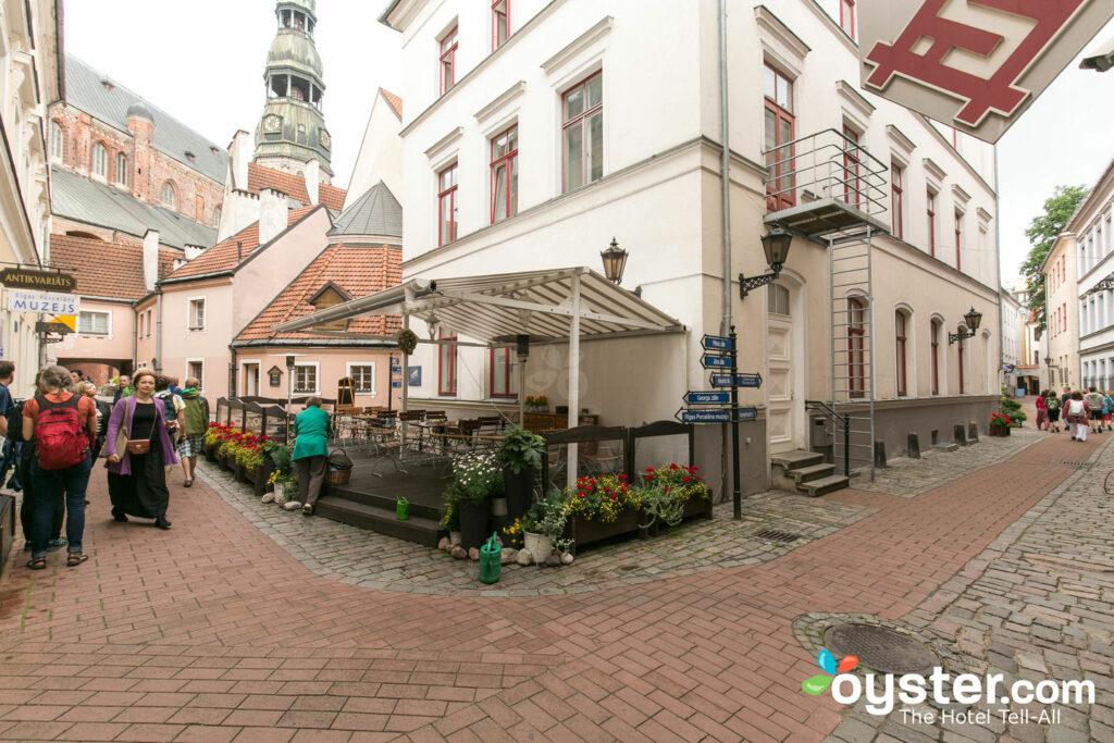 Calle en el hotel Konventa Seta, Riga / Oyster