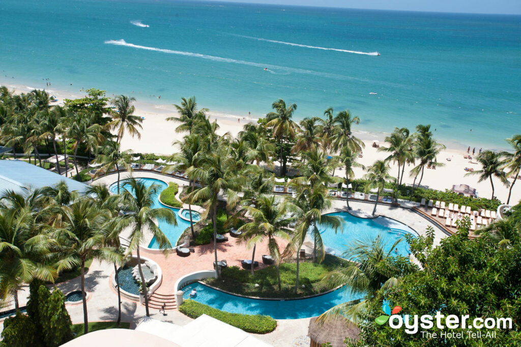 View from El San Juan Hotel, Curio Collection by Hilton.