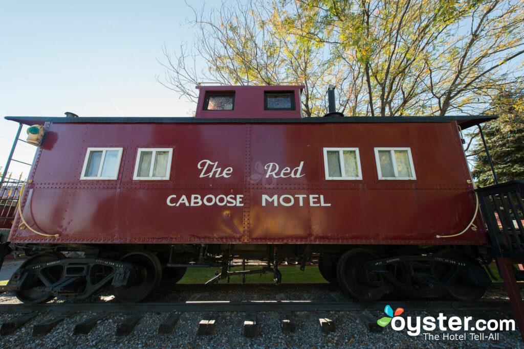 Red Caboose Motel, Restaurant & Geschenkeladen / Oyster