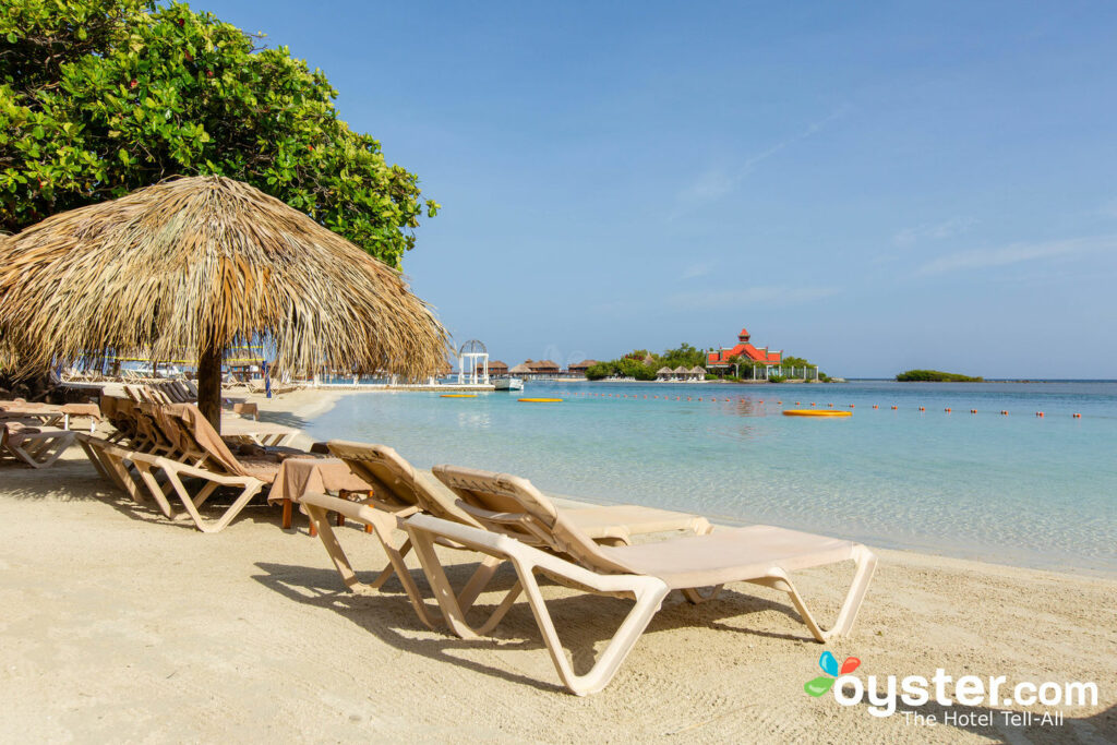 Beach at Sandals Royal Caribbean Resort and Private Island, Jamaica