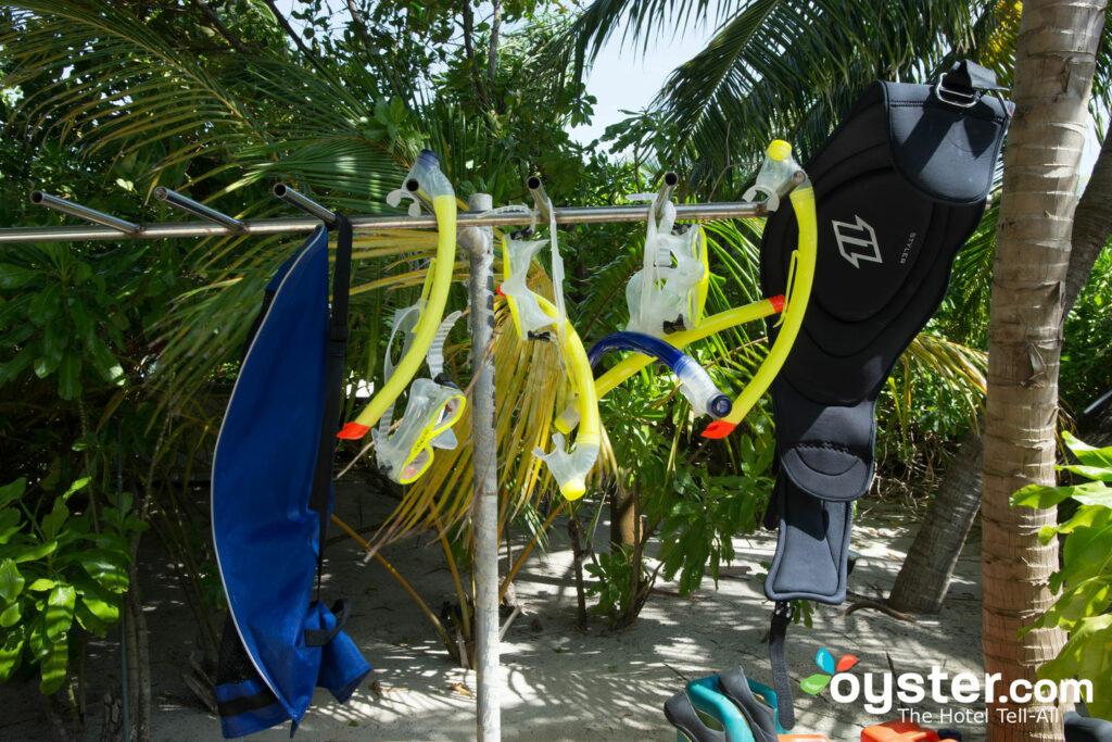 Deportes acuáticos en el W Maldives