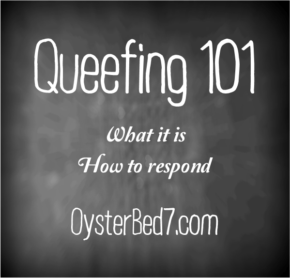 How to minimize queefing