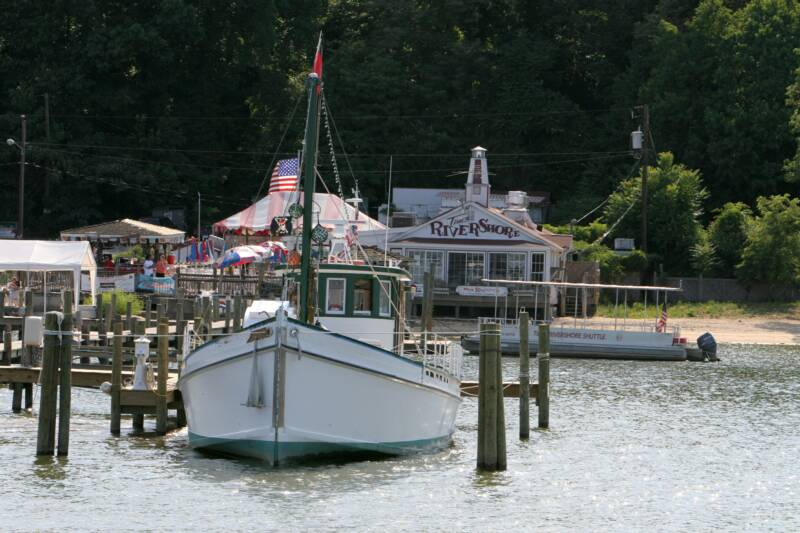 Log Of 1925 Chesapeake Bay Oyster Buyboat PropWash