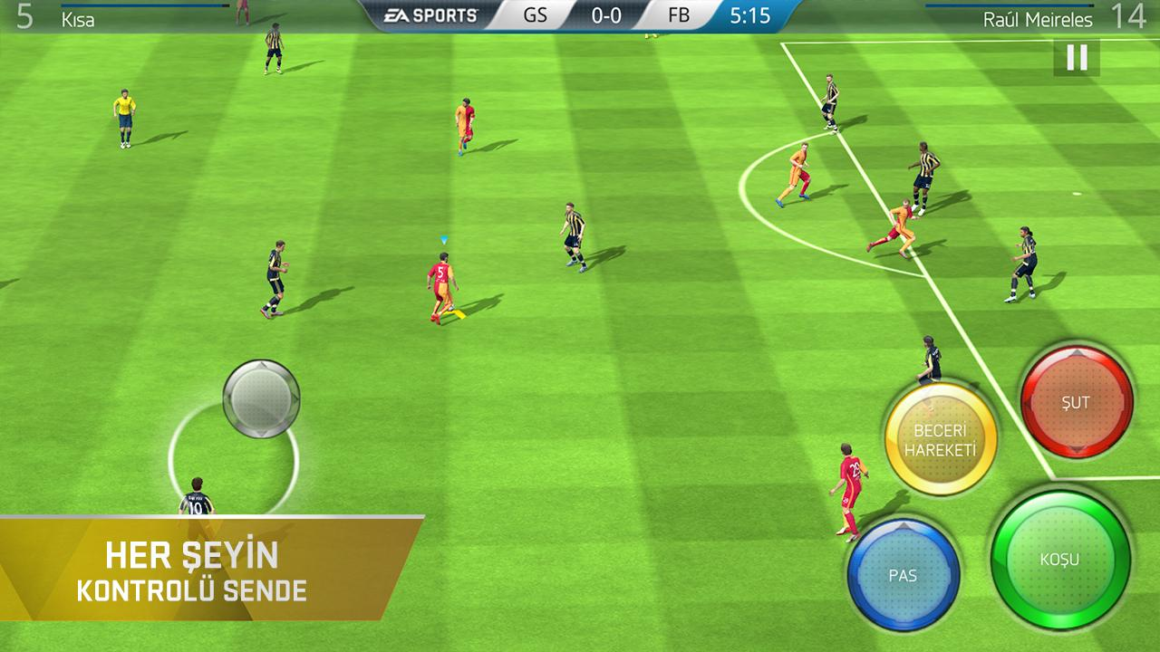 FIFA 16 Ultimate Team APK+DATA 3.2.113645 - AndroPalace