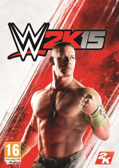 WWE 2K15 cover