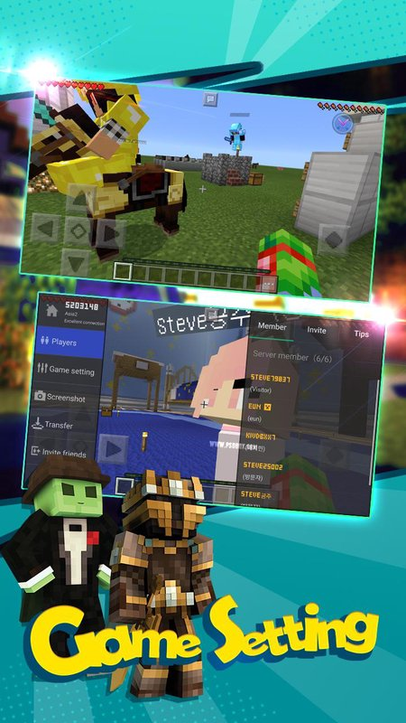 Minecraft apk android oyun club