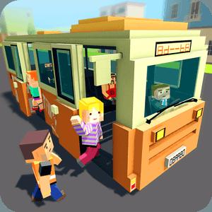 Mr. Blocky City Bus SIM APK