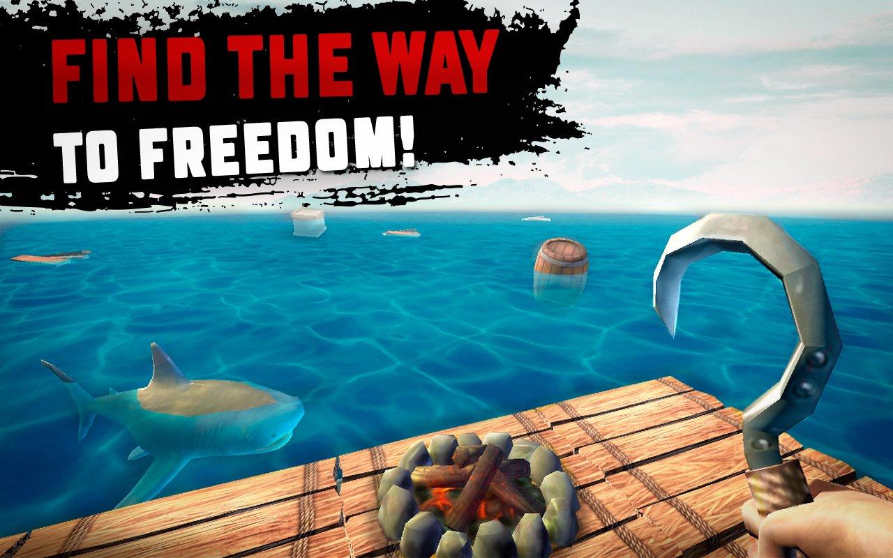 RAFT Original Survival Game Apk İndir – Yemek Hileli Mod