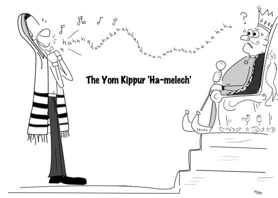 A Chazan sings Hamelech on Yom Kippur