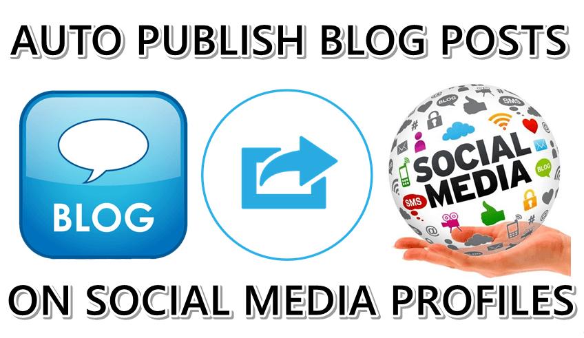 Websitenizin içeriğini sosyal medya sitelerinde otomatik paylaşma