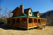 Country Log Homes Plans