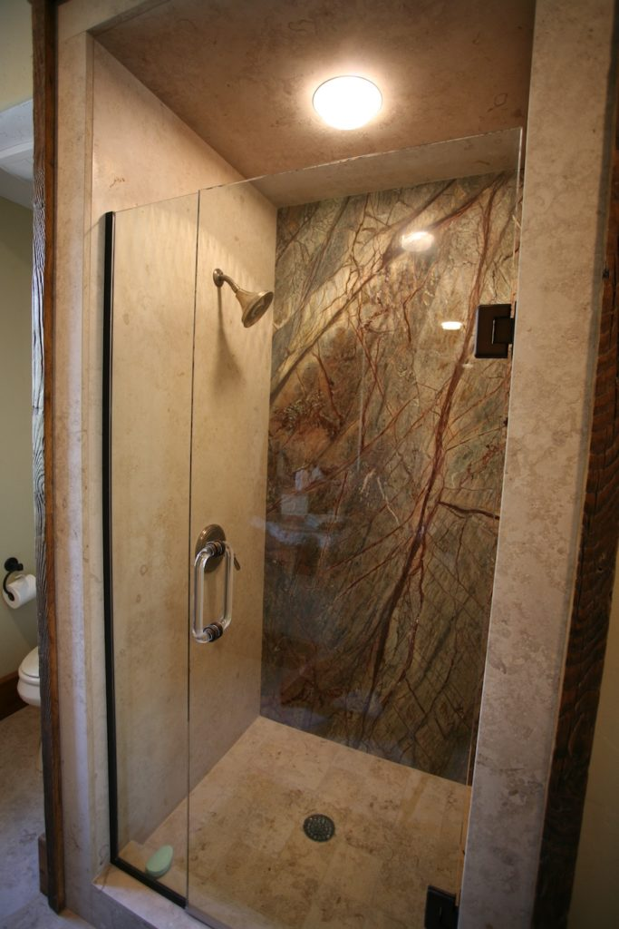 Slab Showers  Stone Walls Accents Springfield MO