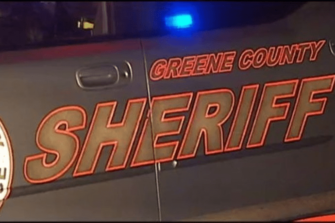 greene county sheriff car