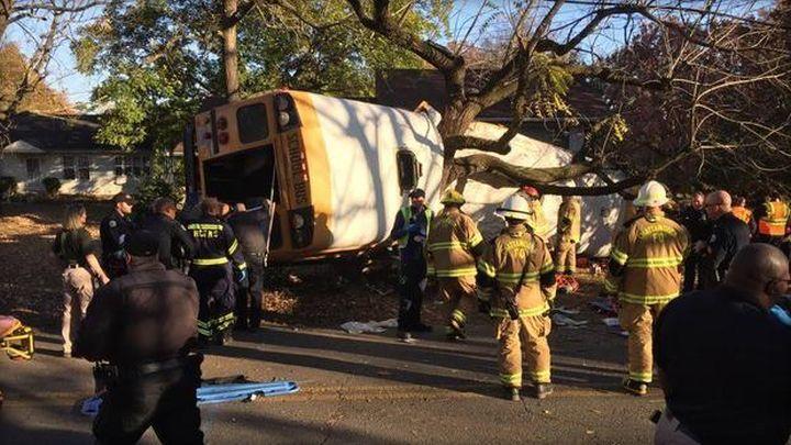 school bus crash chatanooga tennessee