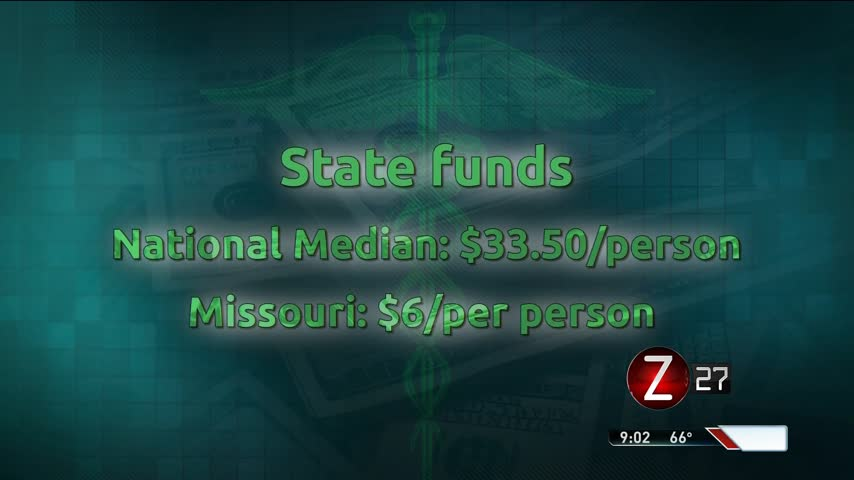 Missouri Ranks 50th In State Funds For Public Health_47593563