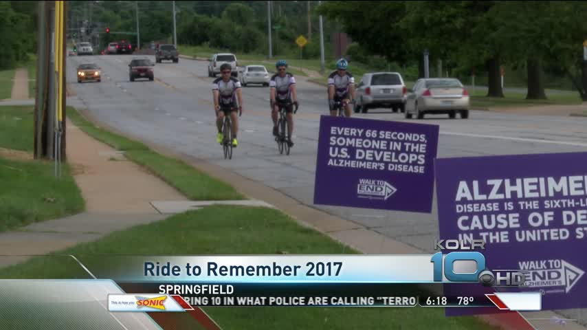 Bikers Pedal 3-000 Miles for Alzheimers- Stop in Springfield_54391353