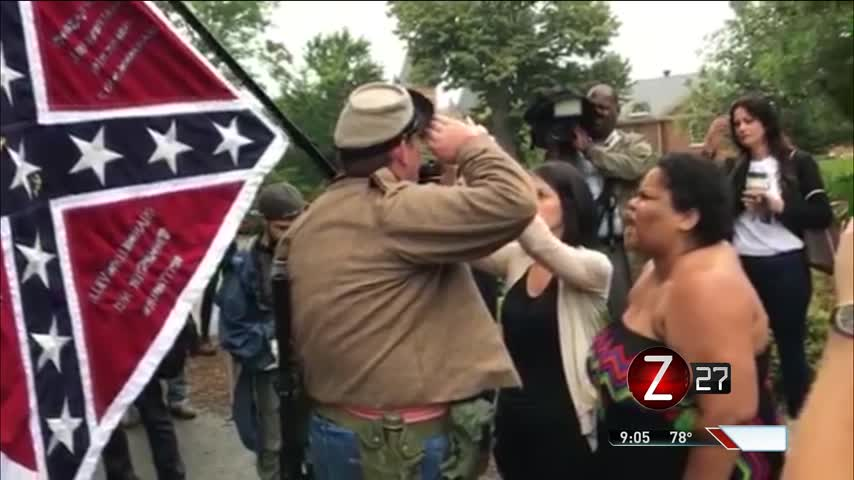 Violent Charlottesville Rally Ignites Free Speech Debate_52514365
