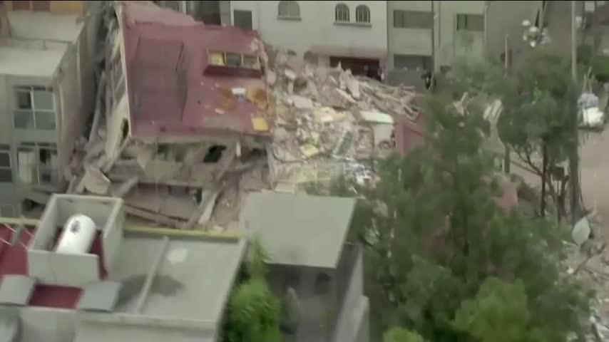 Springfield Woman Mexico Earthquake_98351444