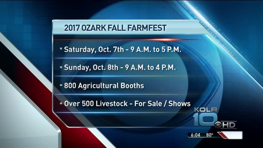 Ozark Farmfest Brings Heavy Traffic_13734430