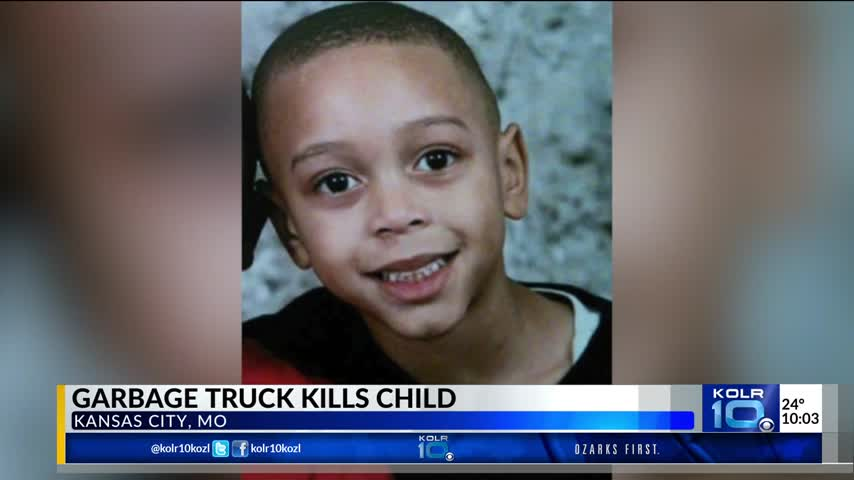 8-Year-Old Killed by Garbage Truck_06981913