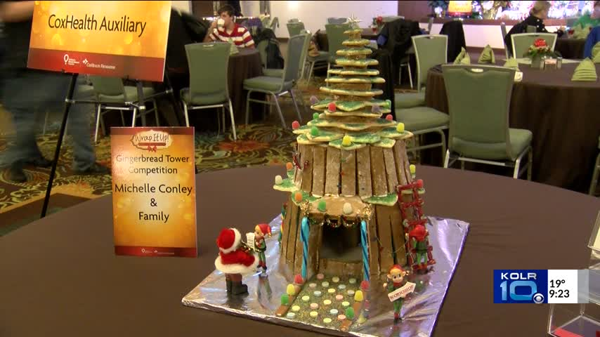 Gingerbread House Competition Raises Money for Health_16582777