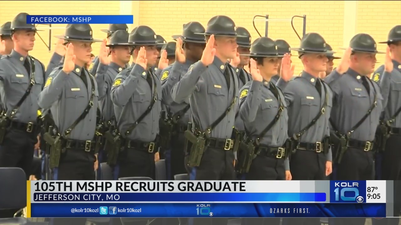 Missouri State Highway Patrol Adds 26 New Troopers