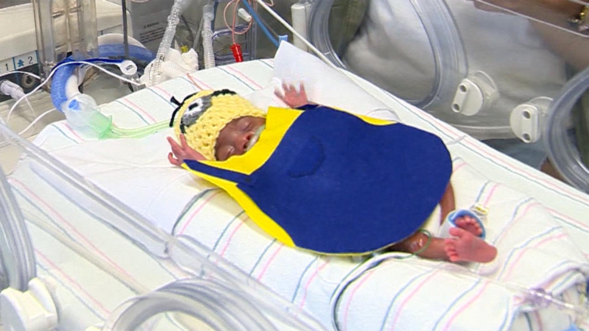 NICU Babies at Arkansas Children's Hospital Get Custom