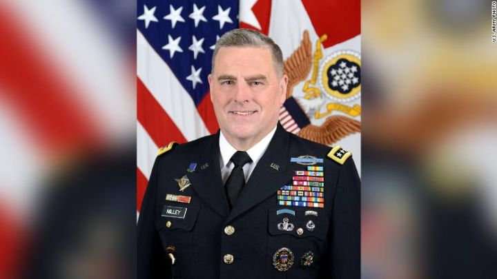 Trump Names Army Chief of Staff Mark Milley to be New Joint