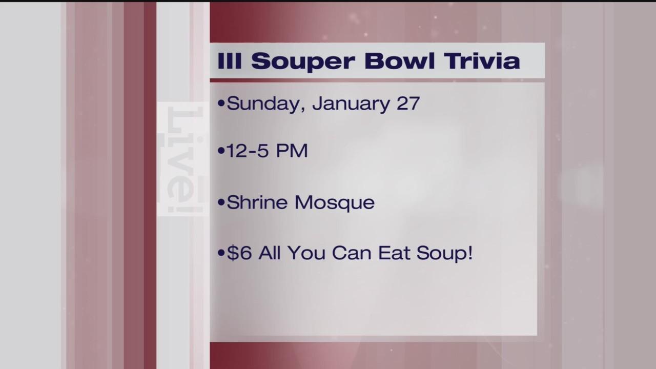 Souper Bowl Trivia - Women In Need - 1/24/19