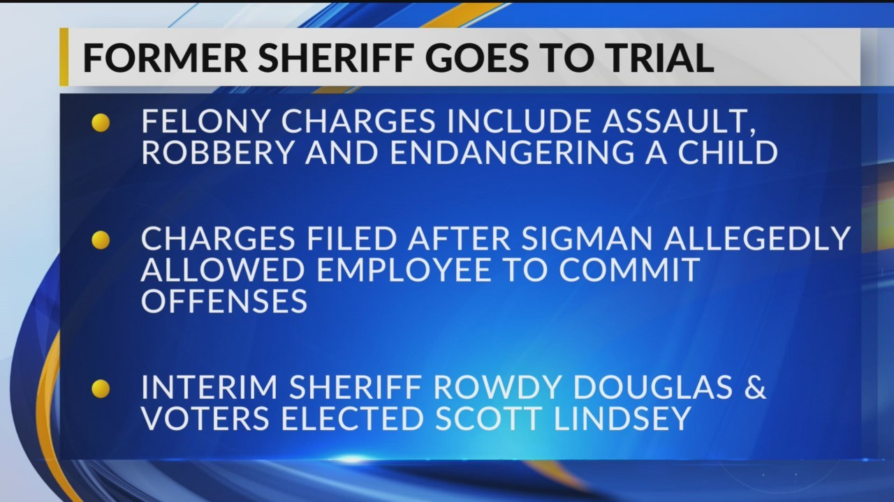 Trial Date Set for Former Texas County Sheriff