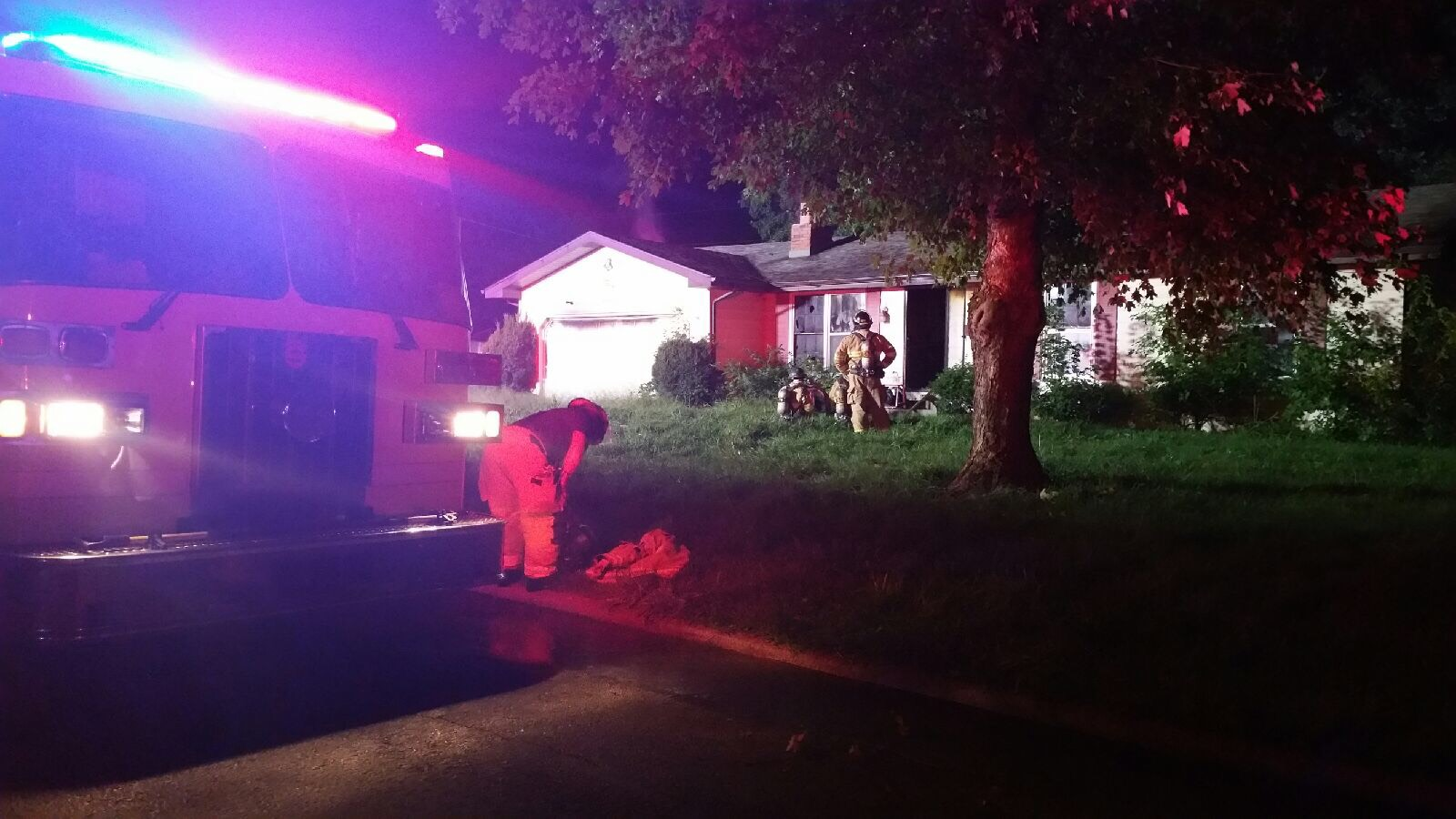 S Westwood House fire