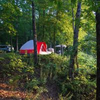 Camping in the Ozarks