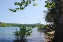 Relaxing and fishing at Table Rock Lake