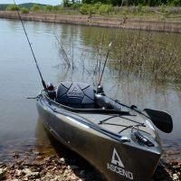 Ascend D10 & Ascend FS10 Kayaks at Berry Bend, Harry S Truman Lake