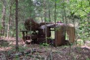 Abandoned vehicle - Busiek State Forest and Wildlife Area