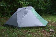 My Sierra Designs Lighting XT 1 Tent - in the rain