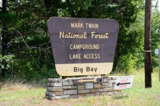Big Bay Campground, Mark twain National Forest