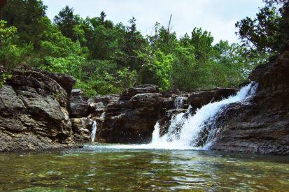 Long Creek falls, Hercules Glades