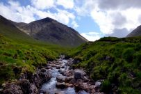 River Coupall in Lairig Gartain