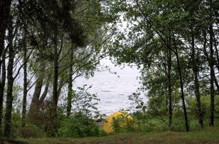 Our last campsite in Scotland