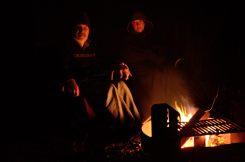 Campfire at Bucksaw, Harry s Truman Lake, Missouri