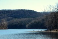 Table Rock Lake from Piney Creek Wilderness