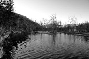 Where Piney Creek joins Table Rock lake
