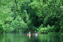 Float trip on the North Fork River, Missouri