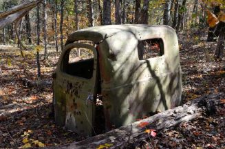 Abandoned Truck on the Pees Hollow Trail, Hercules Glades