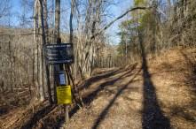 Trail head signs