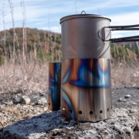 Backpacking and Camping Cooking Setup - Fall 2018.