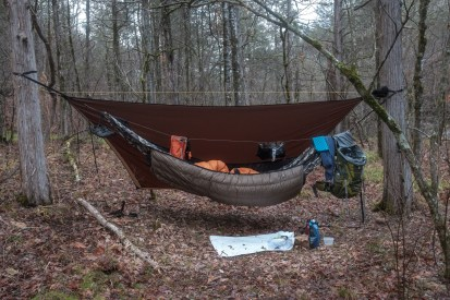 Camped in the Devil's Den. Copyright © 2019 Gary Allman, all rights reserved.