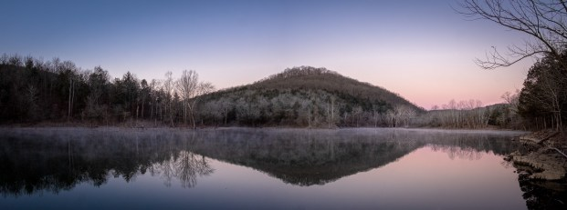 Frosty morning - On table Rock Lake at Piney Creek Wilderness. Copyright © 2020 Gary Allman, all rights reserved.